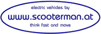 Elektroscootershop Peter Nejedly www.scooterman.at-Logo