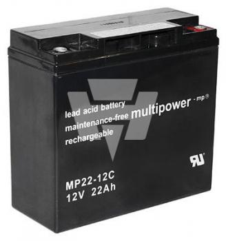 12V-22Ah Multipower