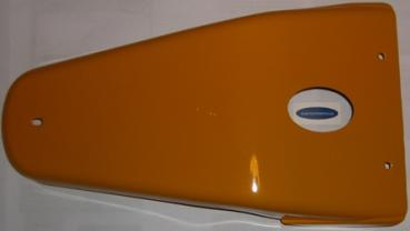 Hintere Abdeckung orange Exitoo LX II