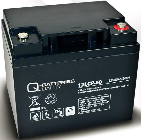 elektroscootershop peter nejedly batterie 12v 50 ah q battery zyklentyp. Black Bedroom Furniture Sets. Home Design Ideas