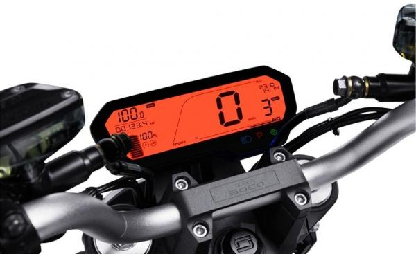 Super Soco TS 1200R Display